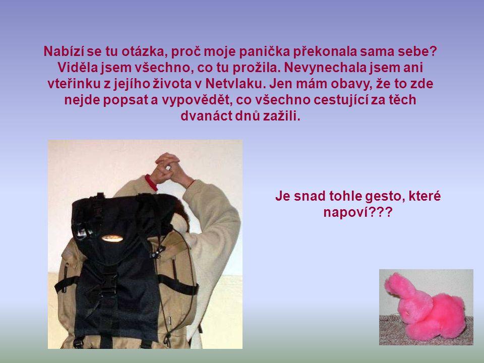 Netvlak měl zastávky v Brně, Blansku, Svitavách, Praze – Libni, Hradci Králové, Pardubicích – Rosicích a jeho dvanáctidenní putování skončilo v Boskovicích.