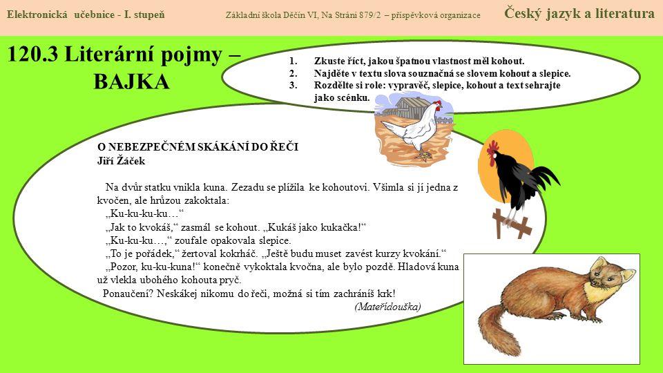 120.4 Literární pojmy- ROMÁN Elektronická učebnice - I.