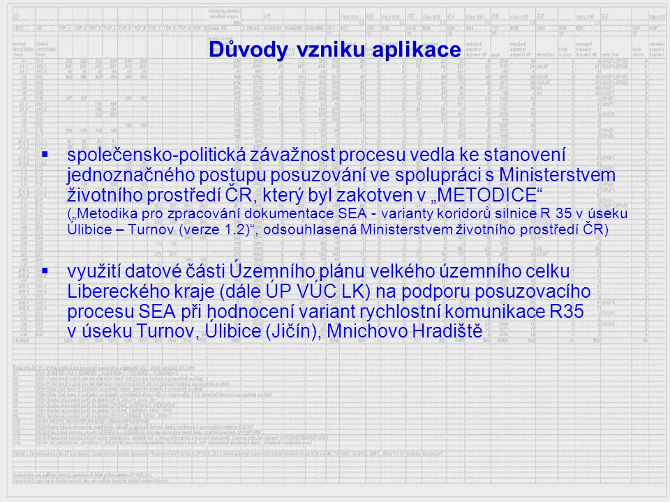 Proces SEA  Posuzování koncepcí podle zákona č.244/1992 Sb.