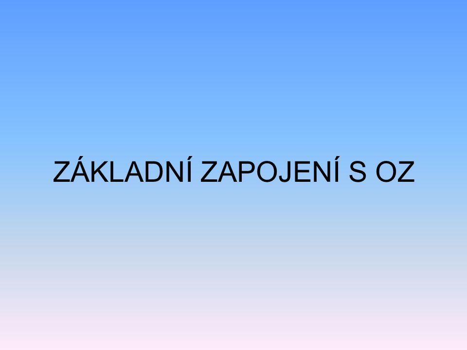 ZÁKLADNÍ INFORMACE O OZ Při symetrickém napájení: nulovému napětí na vstupu odpovídá nulové napětí na výstupu.