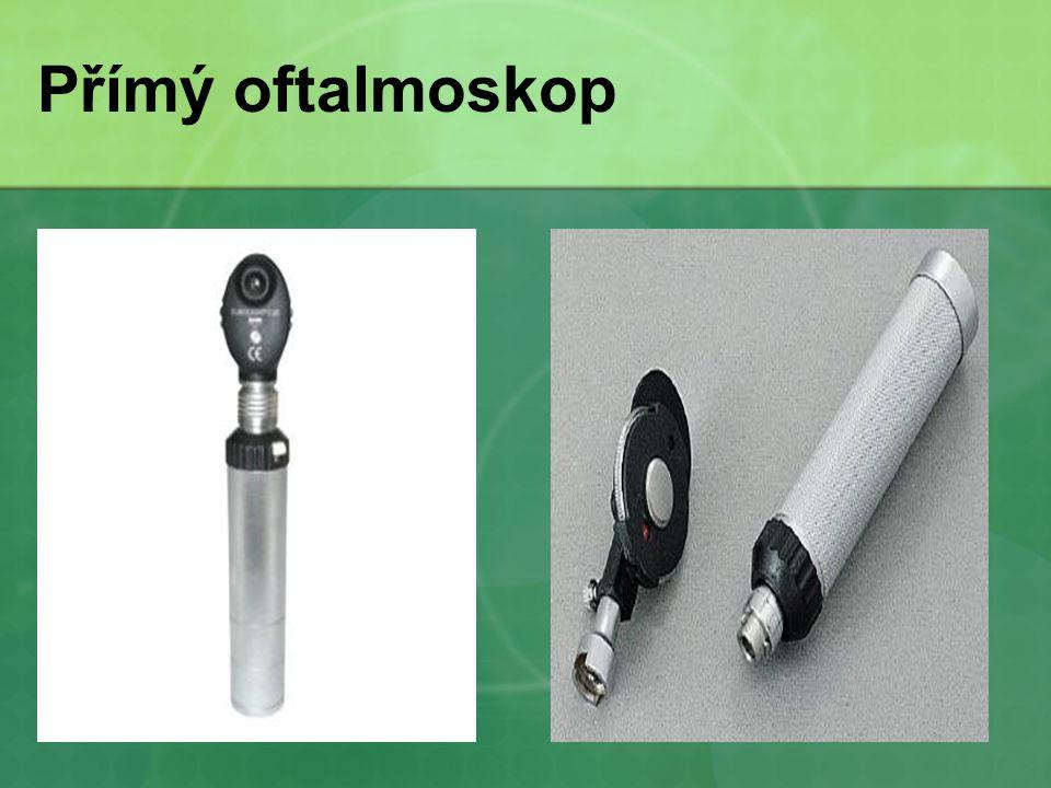 Přímý oftalmoskop