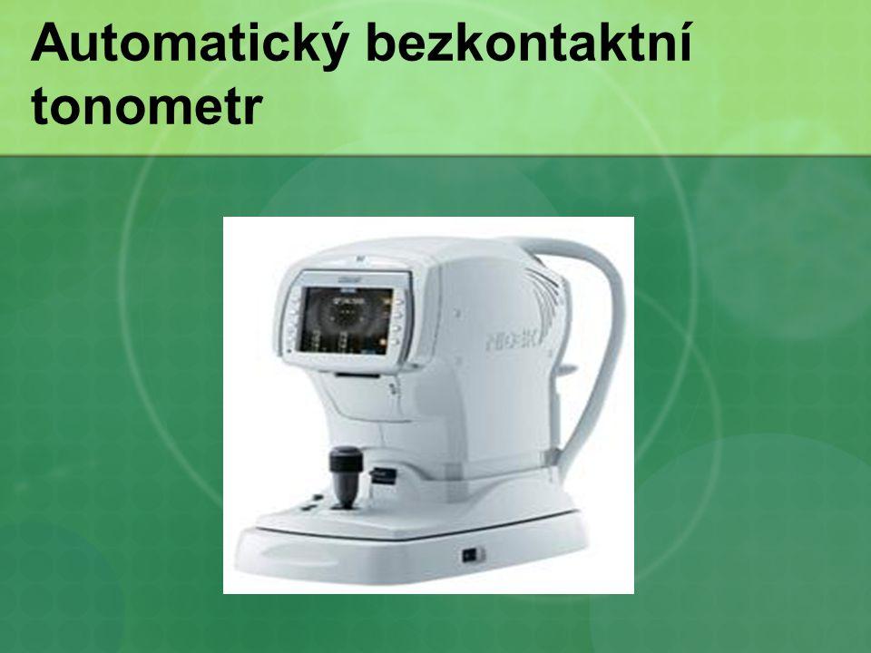 Automatický bezkontaktní tonometr