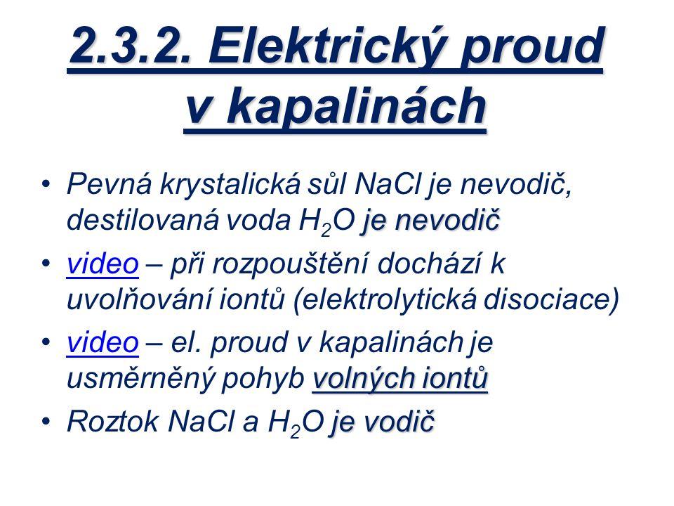 Elektrický nevodič je
