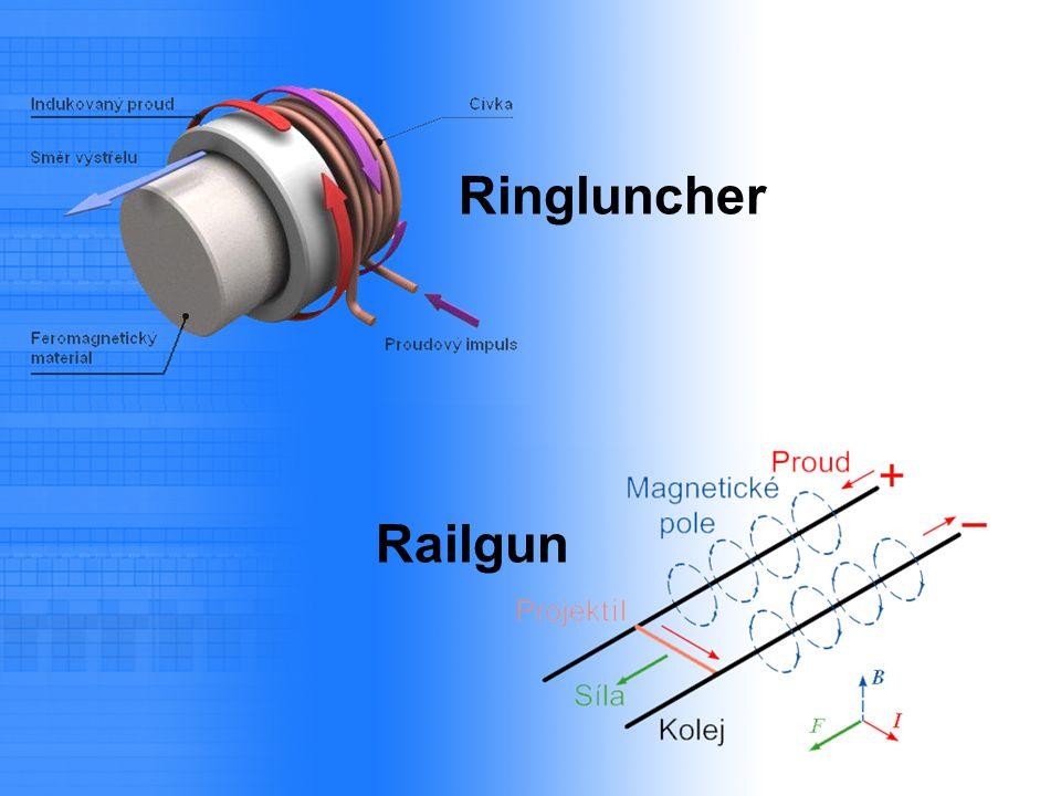 Výhody pro potřeby fyzikální laboratoře: 1) stupně lze řadit za sebou 2) lze měřit rychlost jednotlivých stupňů 3) lze řídit zapnutí i vypnutí proudu 4) lze zjišťovat polohu projektilu 5) lze používat různé projektily stejného průměru Gaussgun