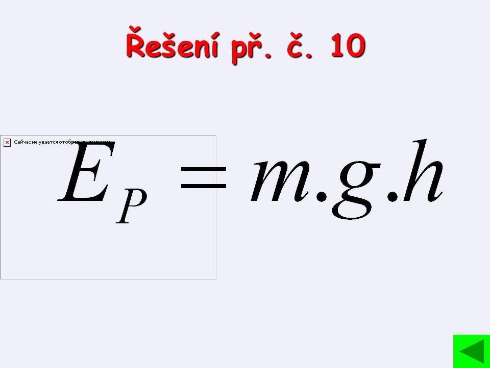 Řešení př. č. 10