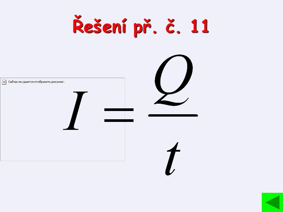 Řešení př. č. 11