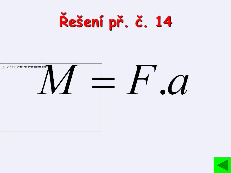 Řešení př. č. 14