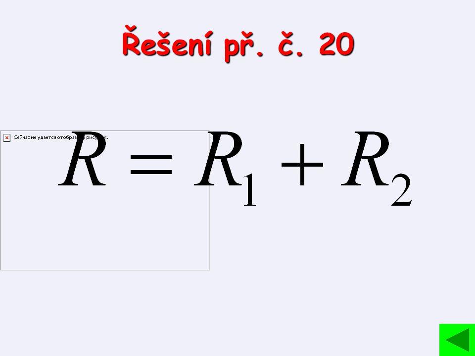 Řešení př. č. 20