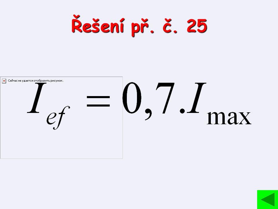 Řešení př. č. 25