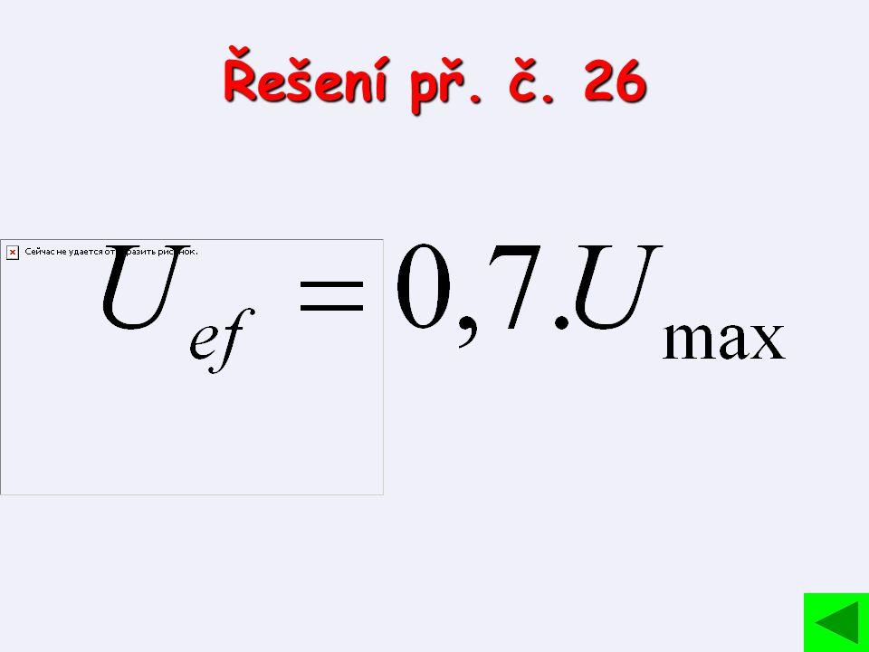 Řešení př. č. 26