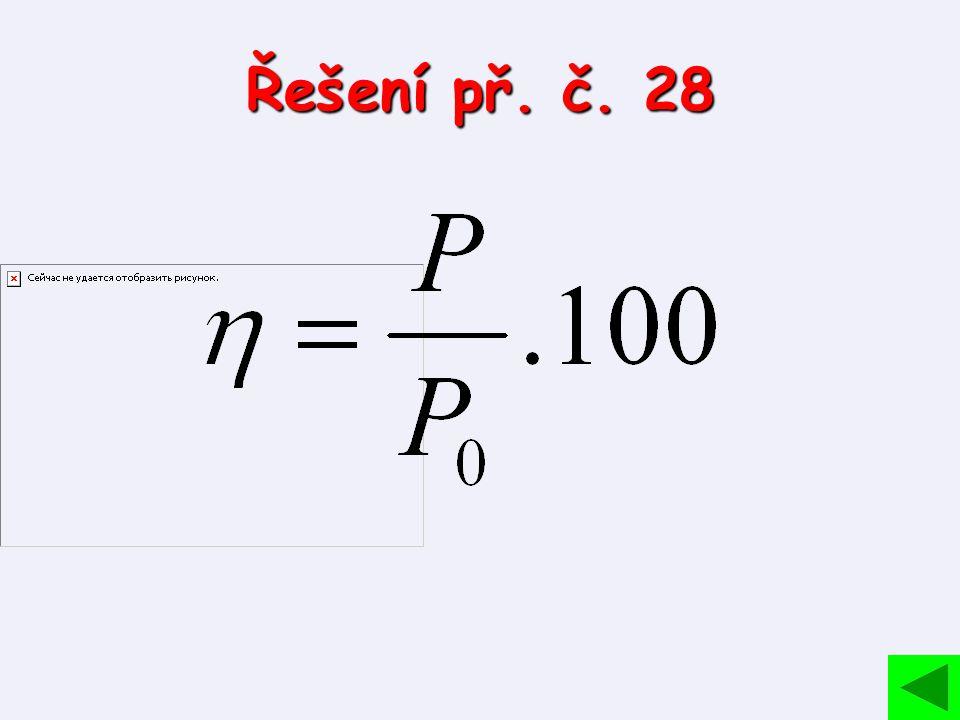 Řešení př. č. 28