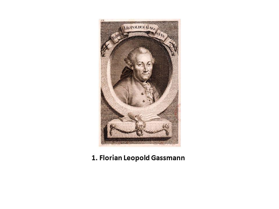 1. Florian Leopold Gassmann