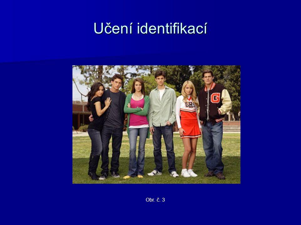 Učení identifikací Obr. č. 3