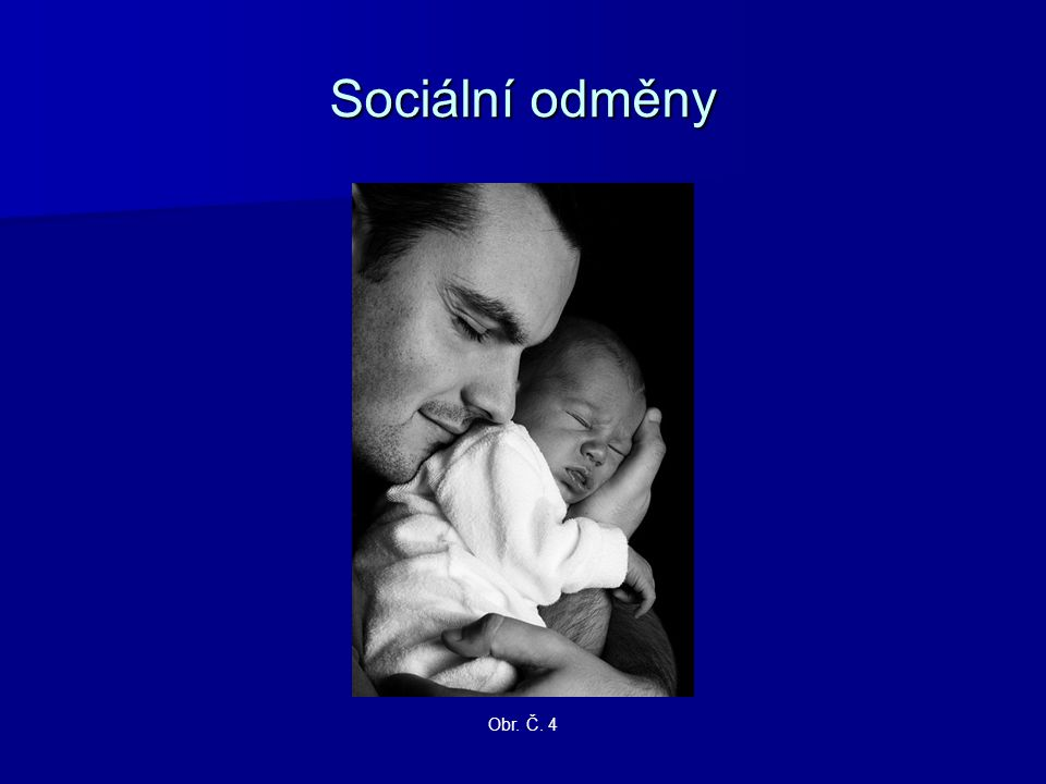 Sociální odměny Obr. Č. 4