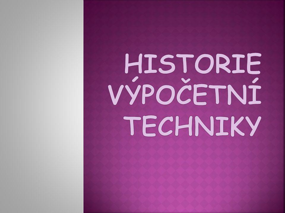  Starověký Řím a Řecko - první počítací strojek  Abakus = dřevěná nebo hliněná destička + kamínky, zvané calculi  calculi  slovo kalkulace, kalkulátor, kalkulačka.