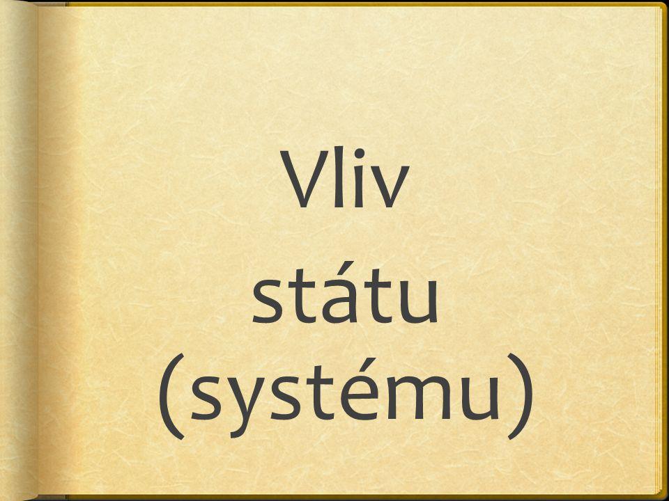 Vliv státu (systému)