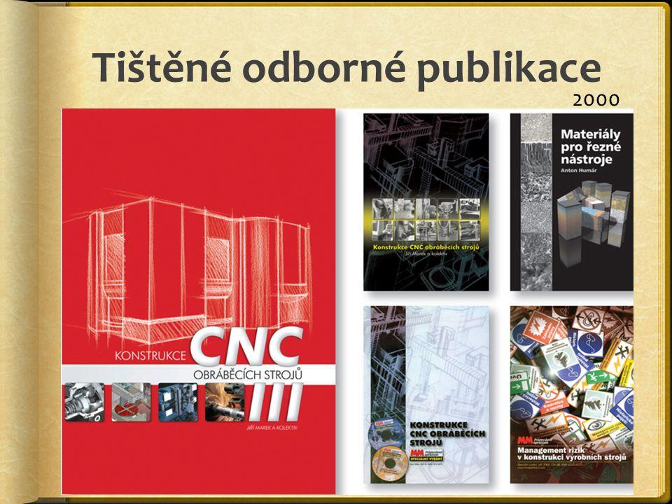 Tištěné odborné publikace 2000