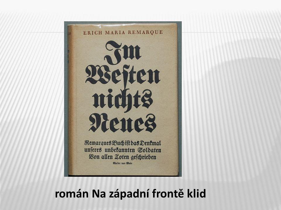 10 román Na západní frontě klid