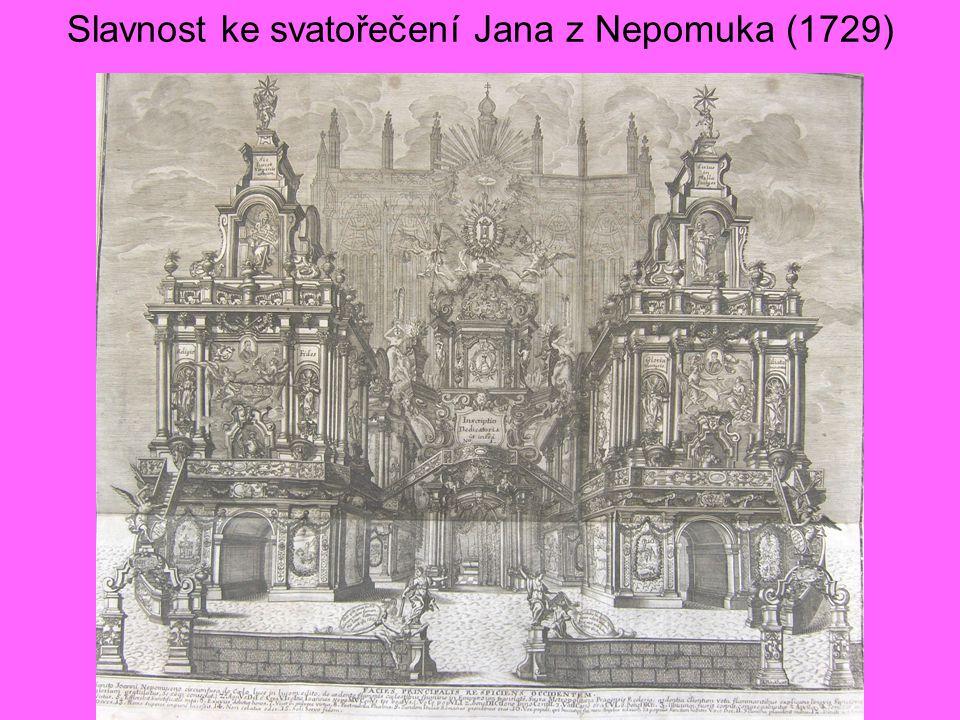Slavnost ke svatořečení Jana z Nepomuka (1729)