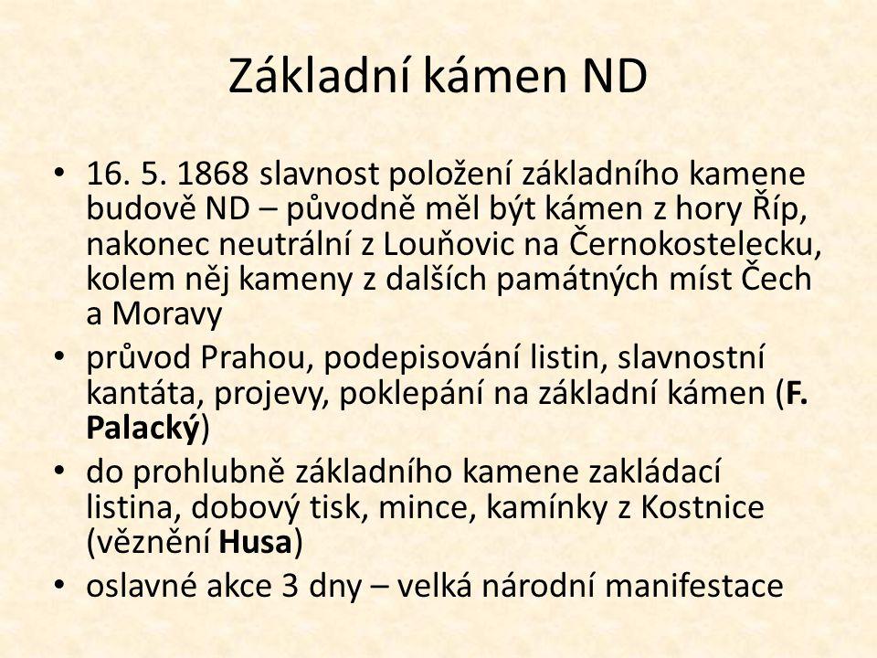 Základní kámen ND 16. 5.
