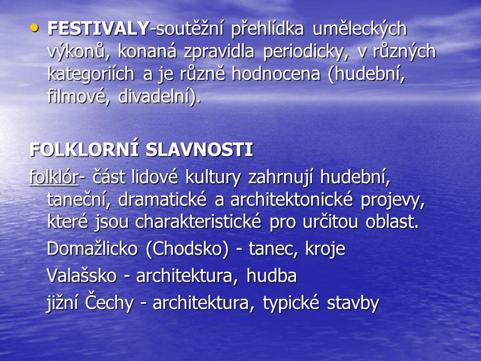 Folklór se stále mění a vyvíjí díky individuálnímu podání jednotlivých generací.