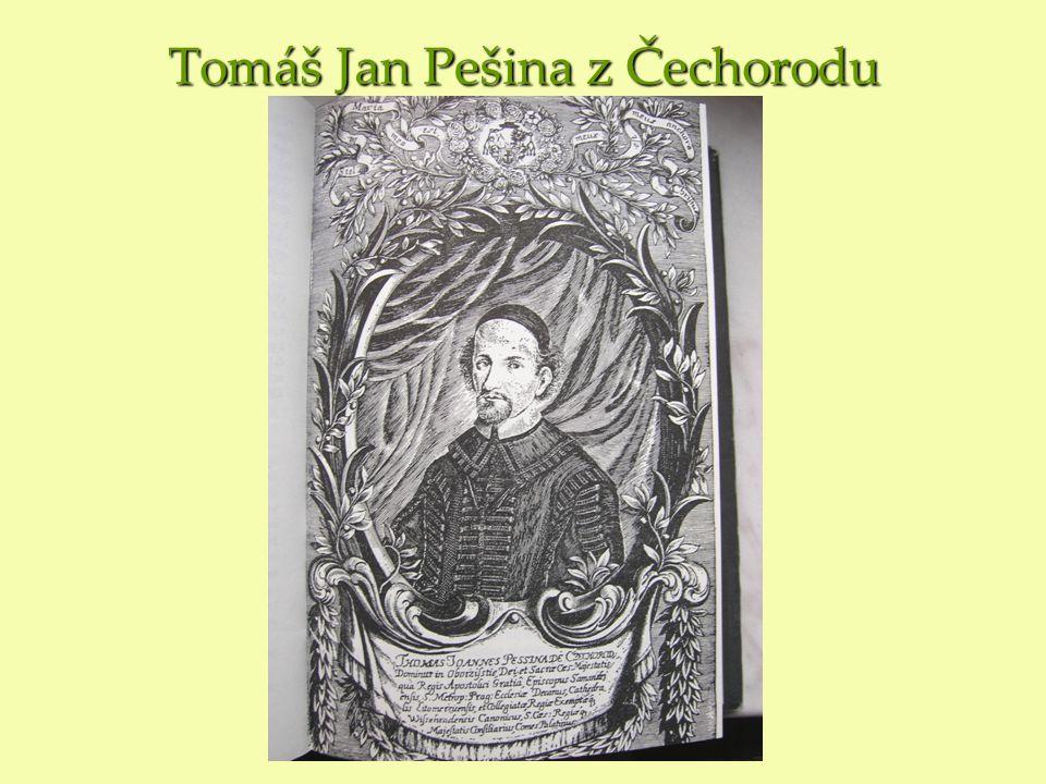 Tomáš Jan Pešina z Čechorodu