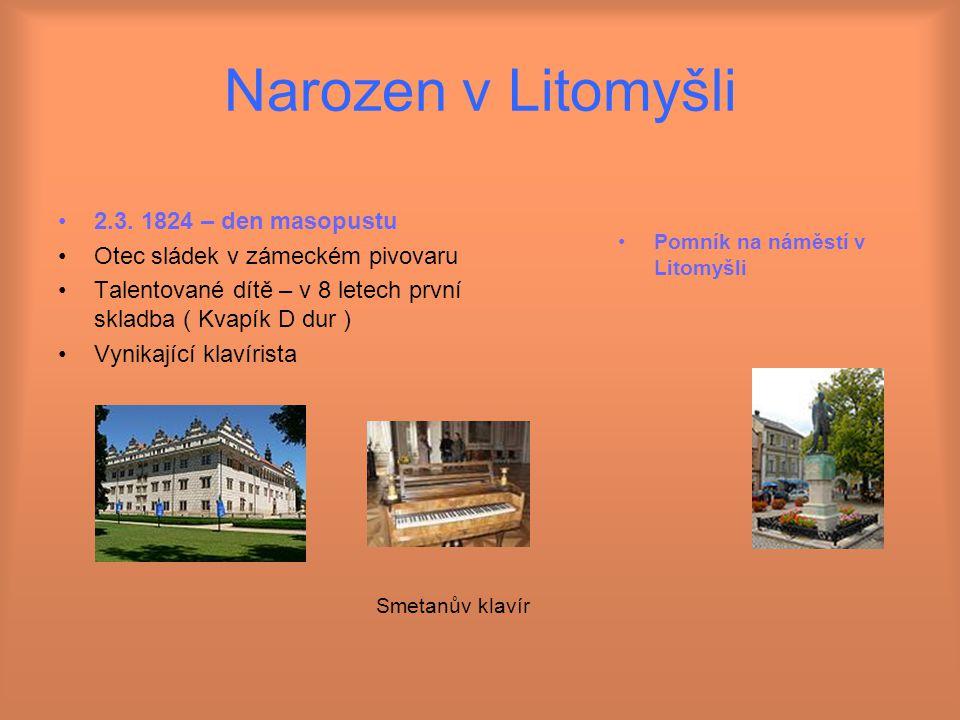 Narozen v Litomyšli 2.3.