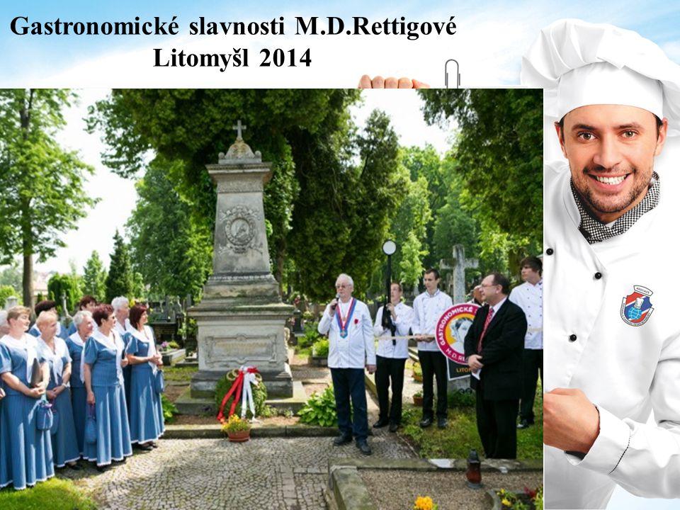 Gastronomické slavnosti M.D.Rettigové Litomyšl 2014