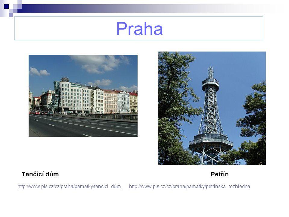 Praha Tančící dům Petřín http://www.pis.cz/cz/praha/pamatky/tancici_dumhttp://www.pis.cz/cz/praha/pamatky/tancici_dum http://www.pis.cz/cz/praha/pamat