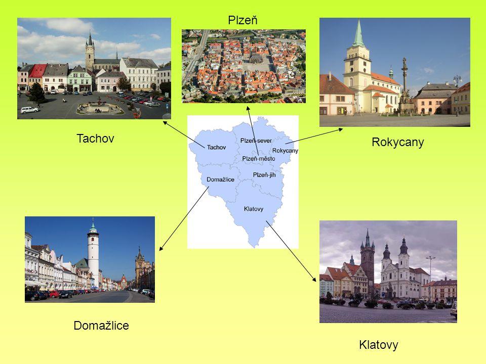 Krajské město Plzeň...