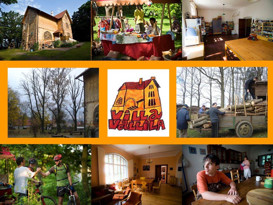 Občanské sdružení Villa Vallila Založeno v roce 1996 s cílem vybudovat a provozovat komunitní dům v Červeném Újezdě u Votic jako domov pro lidi s postižením.