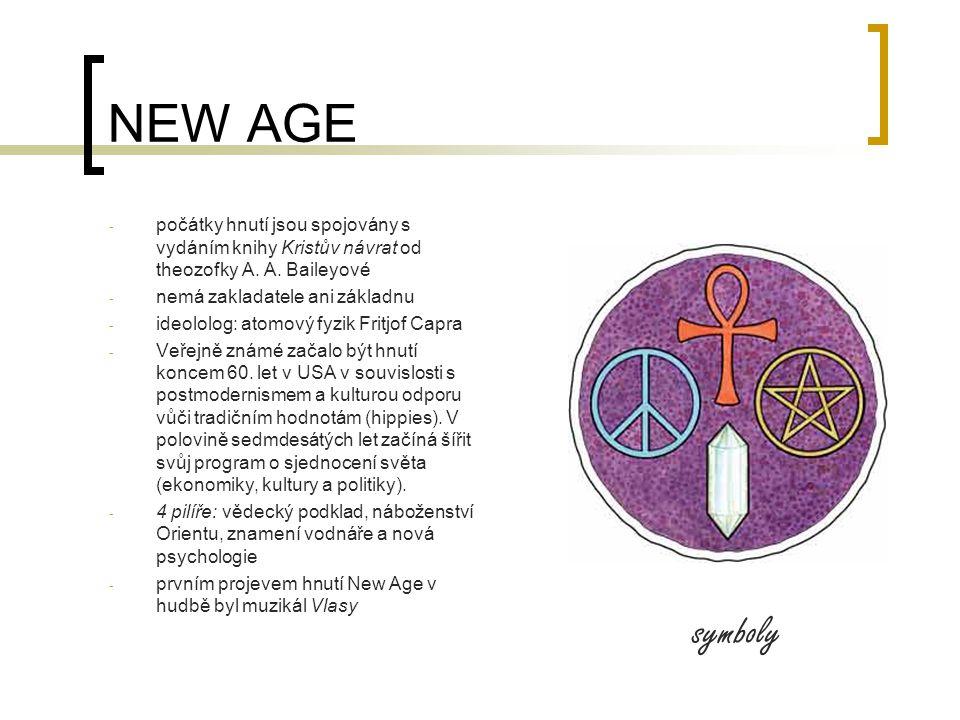 NEW AGE - počátky hnutí jsou spojovány s vydáním knihy Kristův návrat od theozofky A.