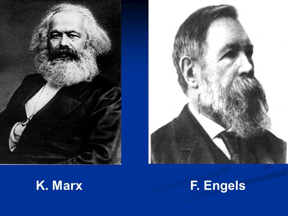 K. MarxF. Engels