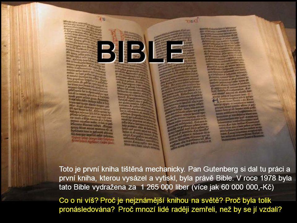 Bible ( z řeckého τ ὰ βιβλíα /ta biblia/ = knihy, svitky ) Tipněte si: Kolik knih je celkem v Bibli.
