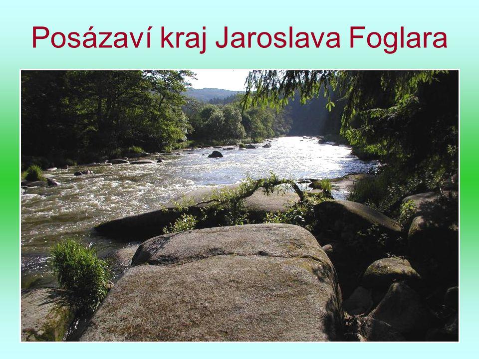 Řeka Sázava pod Melechovem