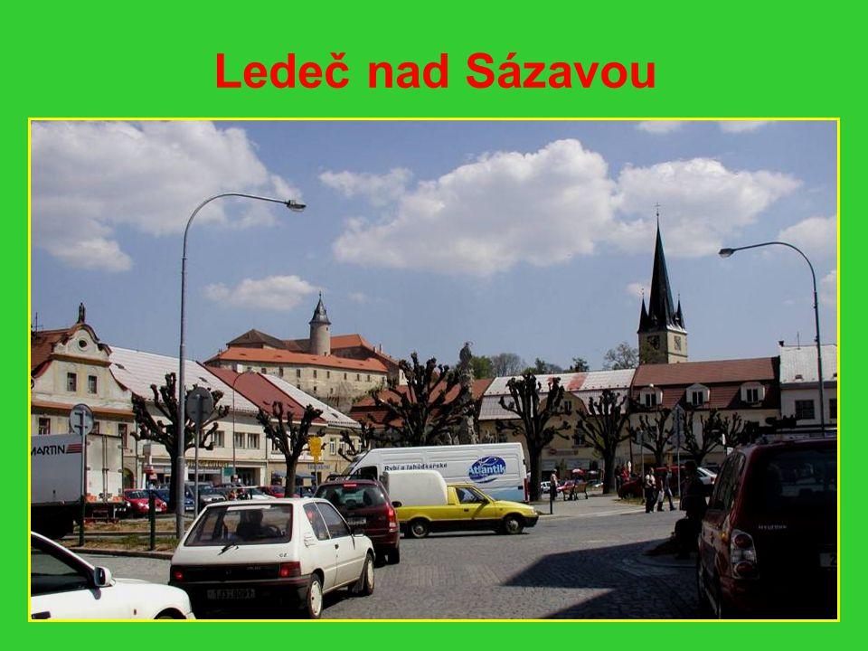 Cesta do Ledče nad Sázavou
