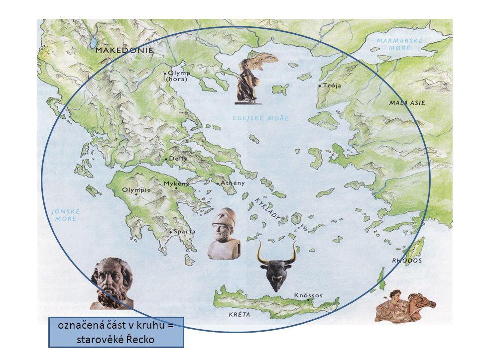 Příchod řeckých kmenů na Balkán Vypiš si jména řeckých kmenů!