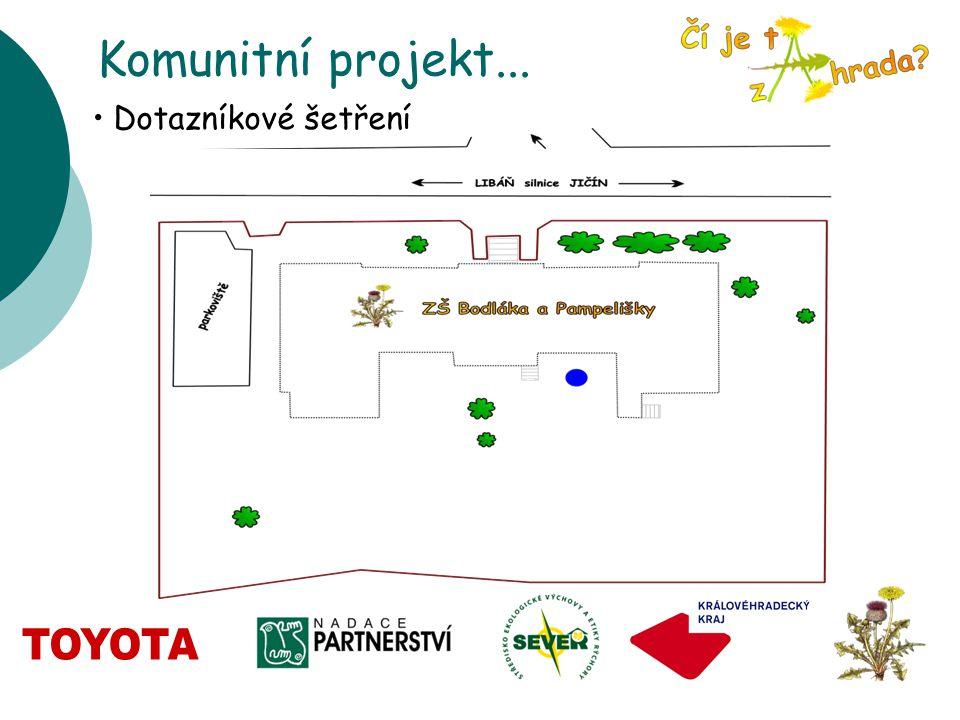Komunitní projekt... Dotazníkové šetření