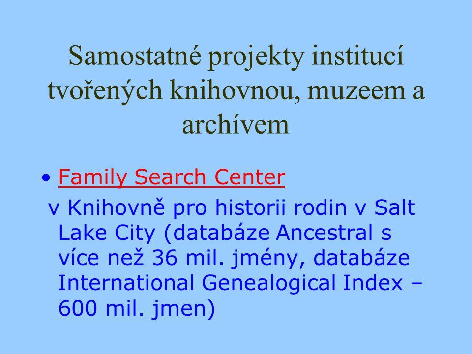 Digital Heritage in Austria Spravuje databázi digitalizačních projektů V současnosti údaje o 5 místních (regionálních), 30 národních a 19 internacionálních projektech Zapojeno je v nich 25 muzeí, 15 knihoven, 30 archivů, 11 jiných institucí