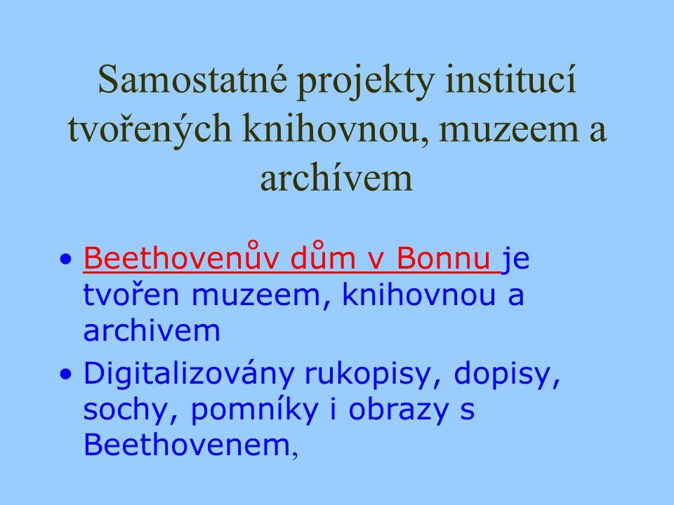 A najdeme na Internetu taky příklad spolupráce české knihovny s muzeem či archivem?