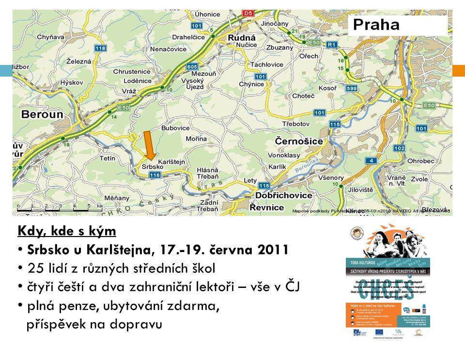 Kdy, kde s kým Srbsko u Karlštejna, 17.-19.