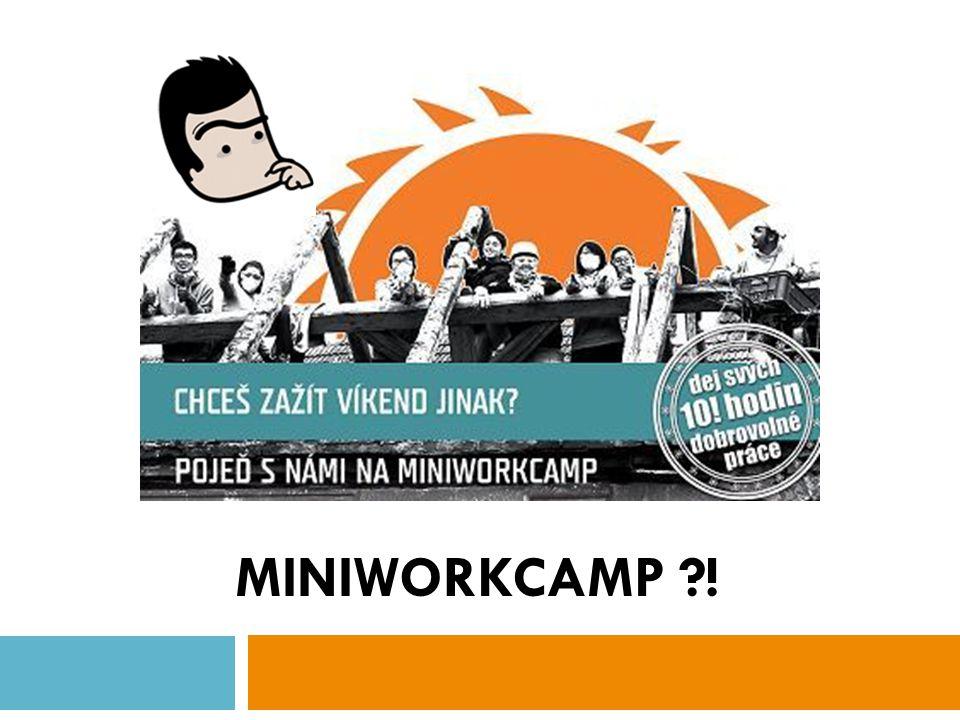 MINIWORKCAMP !