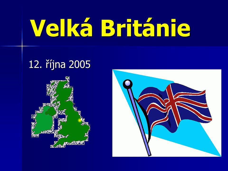Velká Británie 12. října 2005