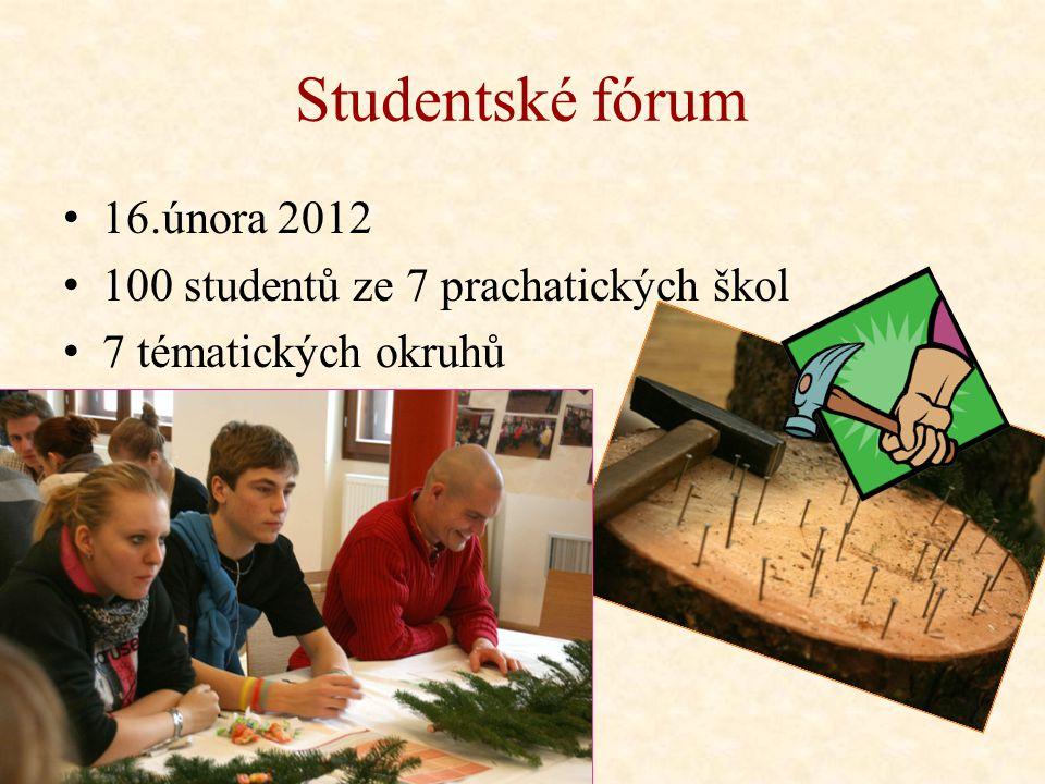 Vyhodnocení ankety Fóra Zdravého města Prachatice a Studentského fóra 30.dubna 2012