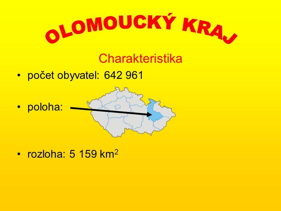 Charakteristika počet obyvatel: 1 249 290 poloha: rozloha: 5 445 km 2