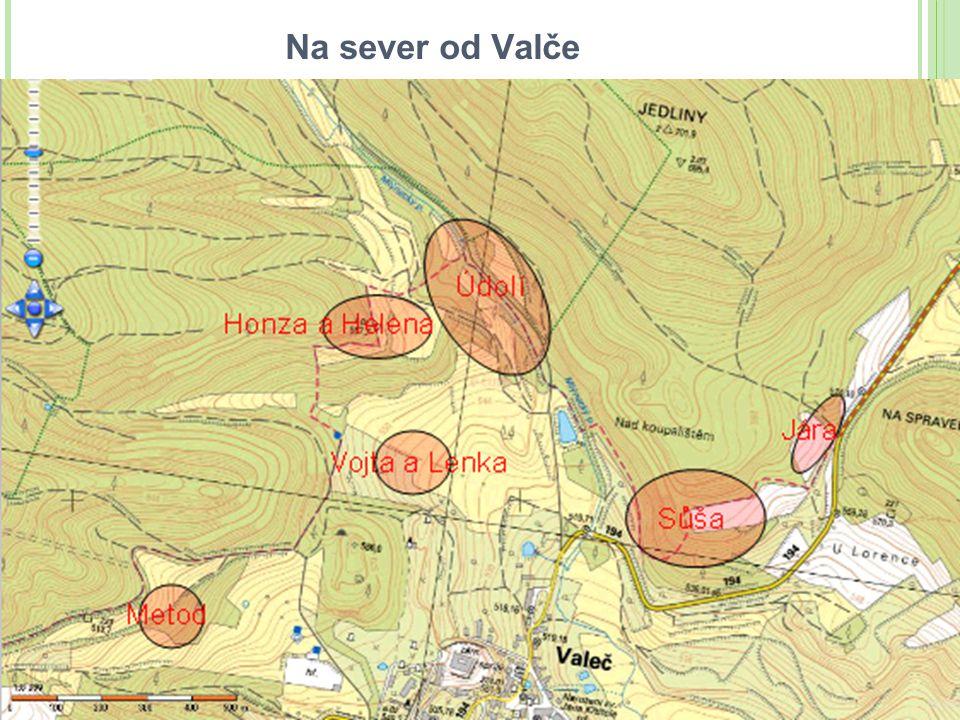 Na sever od Valče