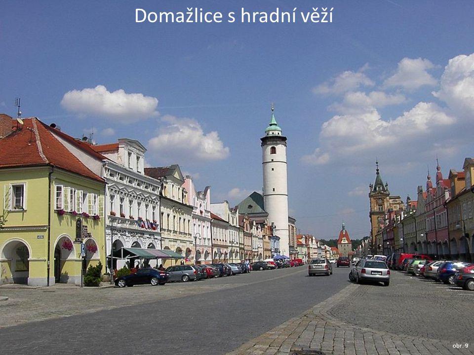 Domažlice s hradní věží obr. 9