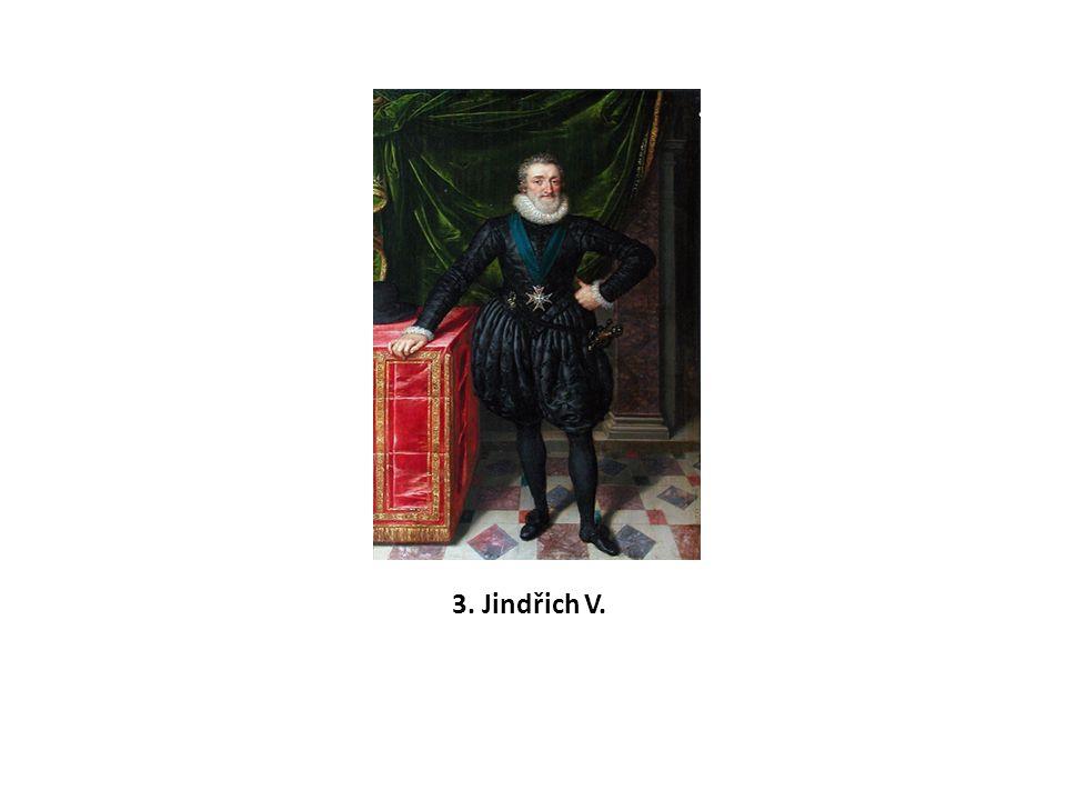 3. Jindřich V.