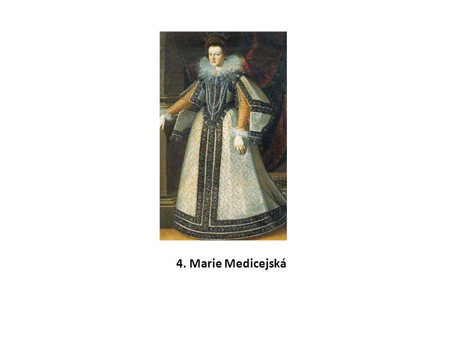 4. Marie Medicejská