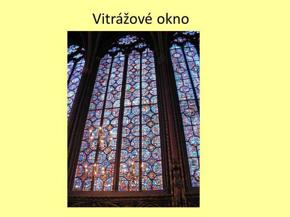 Vitrážové okno